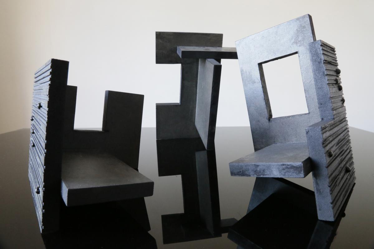 Maquette des trois modules